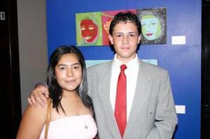 Sofía Juárez Navarrete y Jorge Olivera Mendoza.