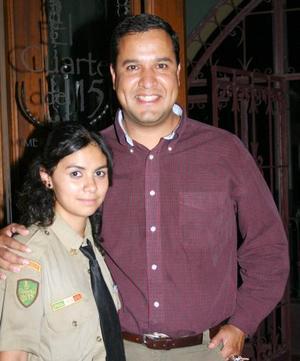 Alejandra González y Carlos Moreno.