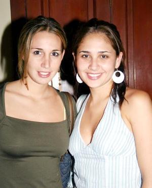 Lorella Franco y Johanna Miñarro.
