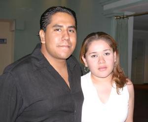 Guillermo cContreras y María Santibánez.