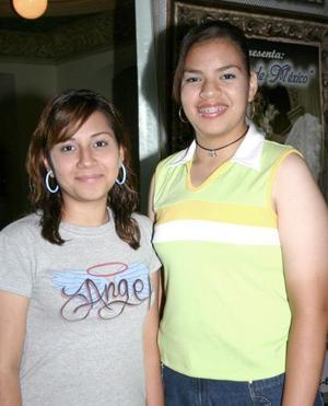 <u><b>28 de Junio </u> </b><p>  Nancy Flores y Carmen Rodríguez Ibarra.