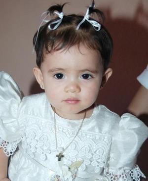 Alexa Samantha Hernández Alvarado cumplió un año de vida en días pasados.