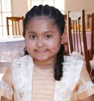 La pequeña Raquel Saldaña Márquez celebró su octavo cumpleaños, con un agradable festejo infantil.