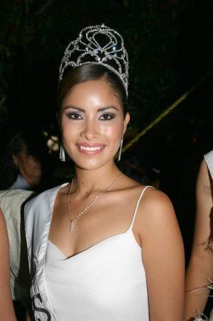 Srita. Lizette Ortega Herrera, Princesa de la Feria Nacional de Gómez Palacio, Dgo., 2004.