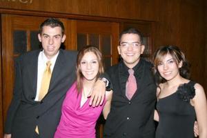 Miguel Mendila, Ana Ávila, 'Dr. Mike' y Leslie Nevárez..