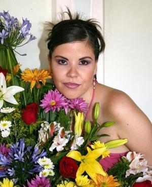 Ivette Andrade Casillas, captada en su despedida de soltera
