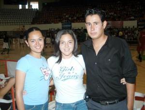 Griselda, María Elisa y Noé.