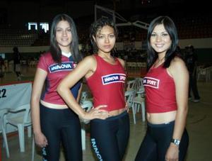 Jessica Ramírez, Mayra Cháires, Joseline Rama.