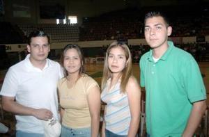 José Díaz, Azucena García, Ana Yeli González y Ricardo Arballo.