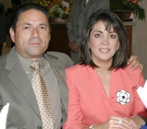 Gerardo Bejarano y Catalina G. de Bejarano.