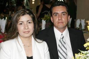 Paty de Máynez y Fernando Máynez.