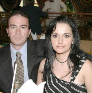 Pedro Revuelta y Patricia de Revuelta.