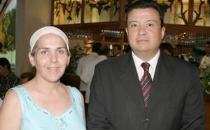 Laura Rodríguez y Juan Antonio Wong.