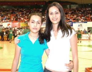 Alicia Ganem y Sayda Ganem.