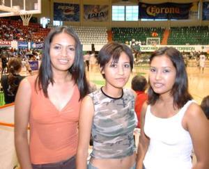 Mayela Sofía y Dibani.