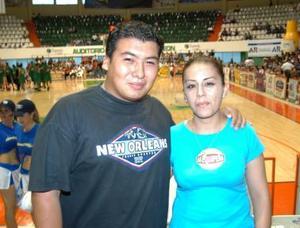 Selene zapata Carrera y Javier Adame Jacinto.