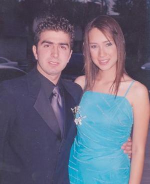 Carlos Alberto Zavala y Zara Escalante.