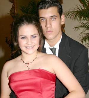 Fernanda Padilla y Héctor Gaaytán.