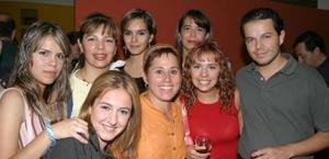 Lily Duarte, Isabel Espinoza, Lorena Garza, Irma Villaseñor, Ionne Villarreal y Lorena Marín.