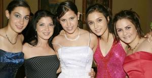 Salma Jaik, Mariana Solís, Vita Leal, Maryfer Padilla y Bárbara Castro.