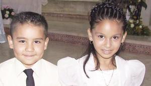 Joel Alejandro Castro y Scarlett Magallanes.