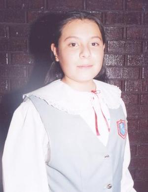 María Teresa López Martínez, destacada alumna.