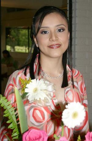 Paola Segura Mesta, captada en su despedida de soltera.