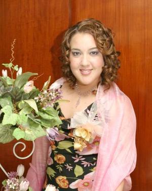 Paty Hernández Martínez disfrutó de su despedida de soltera.