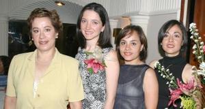 <u><i>04 de julio </u></i><p>  Verónica Saiz Gómez disfrutó de una despedida de soltera, por su próximo compromiso matrimonial con Jorge Ramírez Sánchez.