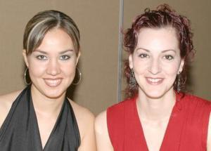 Cristina Ruiz y Claudia Velasco.