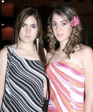 María José Jiménez y Ana Gabriela Humphrey.