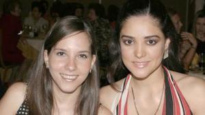 Mariana de Robles y Lorena Salmón.
