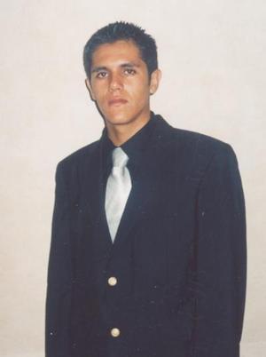 Sergio Pérez Cárdenas, captado el día de su graduación.
