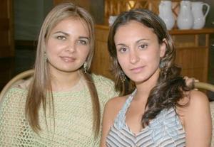 <i><u>04 de julio</i></u><p>  Sofía Rodríguez y Lorena Garza.