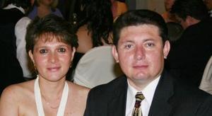 Carolina Mier de Leal y Buenaventura Leal.