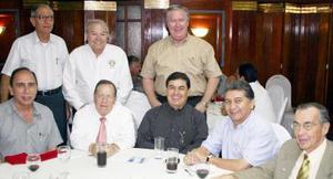Manuel Montenegro, Ángel Morales, Gabrie Cornu, Jesús Zavala, Leopoldo García, Guillermo Contreras, Jorge Márquez y Celso Reyes.