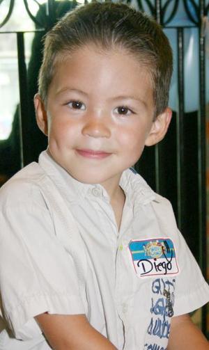 Diego Haro Robles cumplió cuatro años de edad