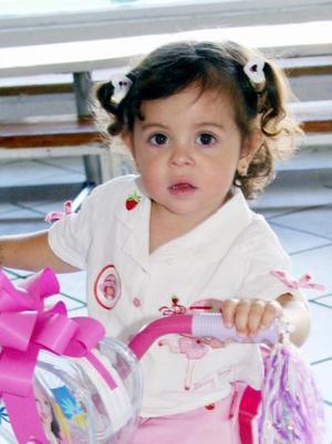 Ana Sofía Jaime Chufani Moscoso cumplió dos años de vida y los festejó, con un agradable convivio infantil.