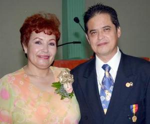 <i><u> 07 de julio</i></u><p>   Víctor Alejandro Jiménez Salazar, gobernador de  distrito B,2, acompañado de su esposa Elizabeth de Jiménez, asistieron a este cambio de mesa directiva provenientes de Ciudad Camargo, Chih.