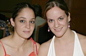 <i><u>07 de julio</i></u><p>   Gaby Torres y Susana López Bario.