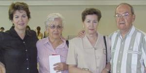 <u><i>06 de julio</i></u><p>   Se trasladaron a Tijuana Carmen Guzmán, María Dolores de Martínez, Paz de Iduñate y José María Iduñate.