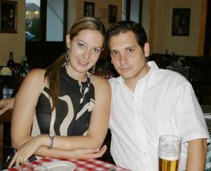 <u><i> 08 de julio </u></i><p>    Claudia de Gónzalez y Severino Gónzalez.