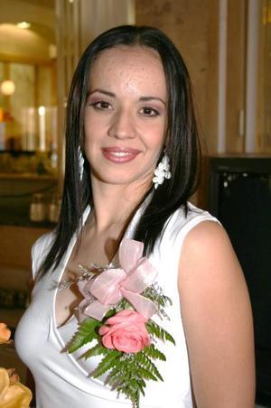 Ana Jocabeth Miñoz fue despedida de su soltería, con motivo de su próximo matrimonio con Juan Pablo Hurtado.