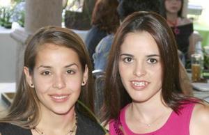 Claudia Robles y Margarita Martínez