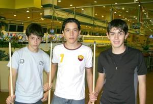 Edilberto Morales, Marco Tulio y Omar Atreyo