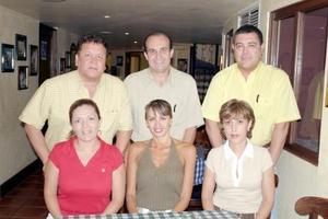 Claudio y Véronica Méndez, Rafael y Jesenia Tiznado, Manuel y María Covarrubias.