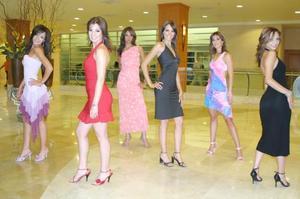 Fueron presentadas las jóvenes que el próximo 21 de julio se disputarán el título de Nuestra Belleza Coahuila así como la oportunidad de personalizar a esta región en el certamen nacional, quienes fueron elegidas de un total de 40 chicas que se inscribieron.