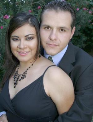 Felipe Martínez González y Beatriz Vargas Jiménez, en pasado acontecimiento social.