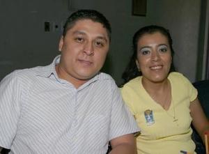Antonio Villa vicencio y Martha Mayela Segura.