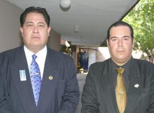 Gilberto Larios y Fernando García.